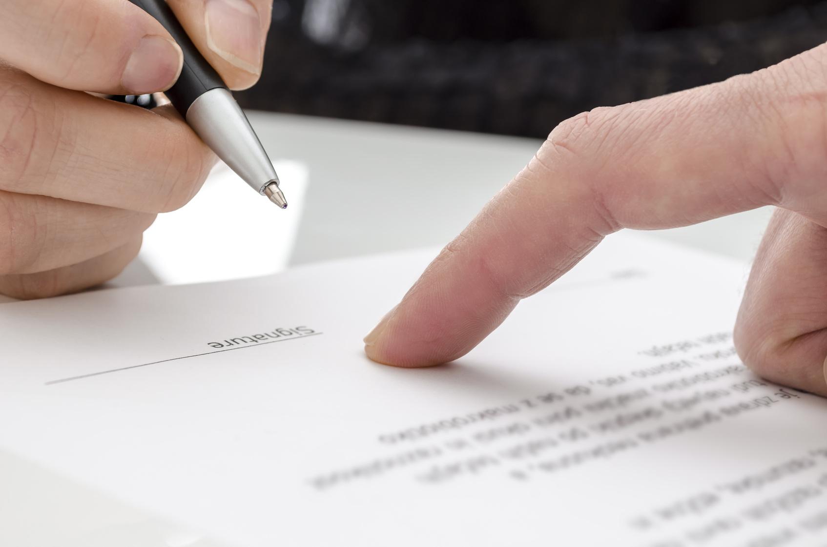 Padronização de contratos